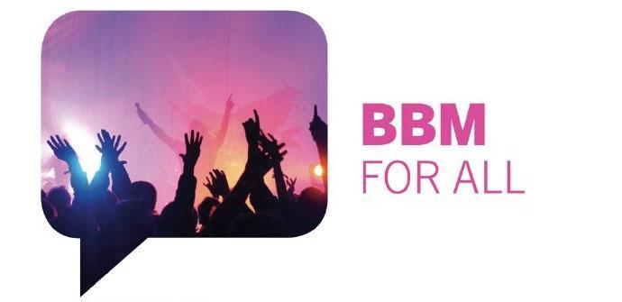 BBM llegará este fin de semana a iOS y Android.