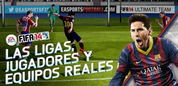 FIFA 14 ya es oficial en Android.