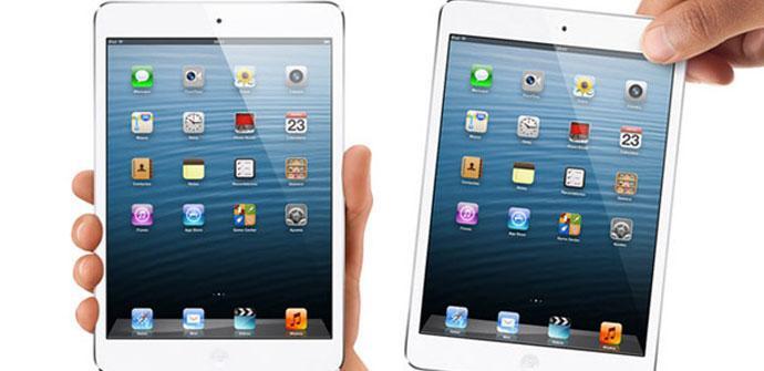 El iPad mini 2 podría retrasarse hasta 2014.
