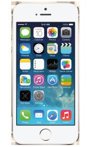 Apple iPhone 5S blanco grande
