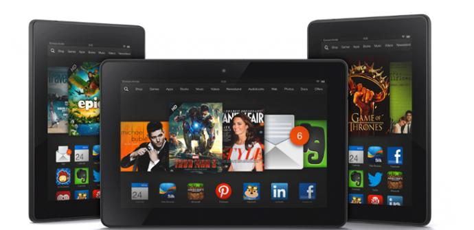Nuevos Kindle Fire HDX.