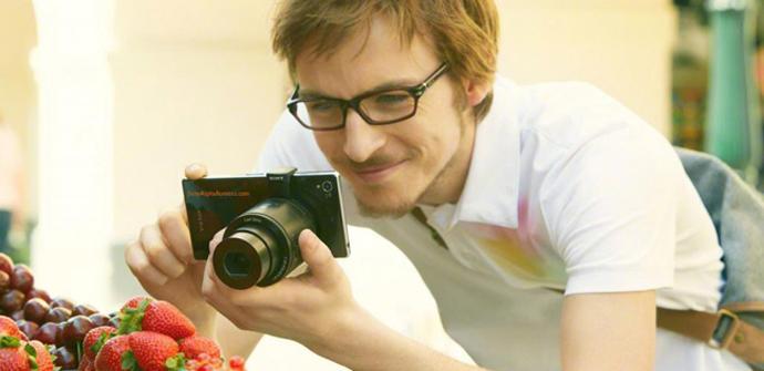 Imagen del vídeo promocional de las Lens Camera.