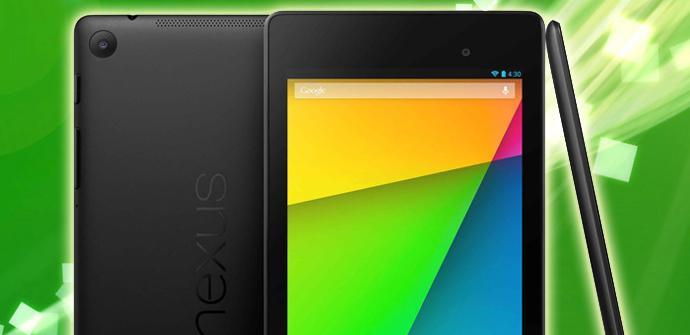 Comienza el despliegue del nuevo Nexus 7 LTE.