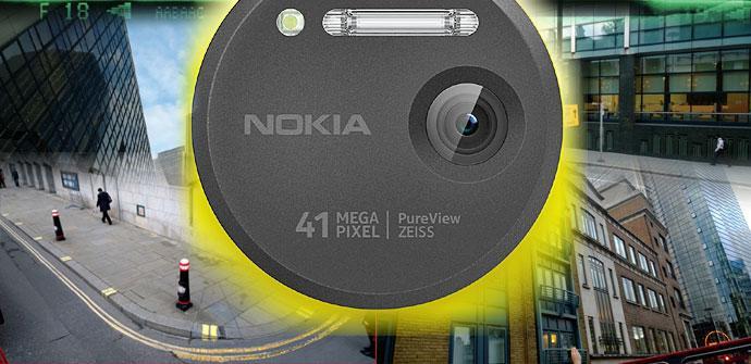 Objetivo, lente y flash del Nokia Lumia 1020