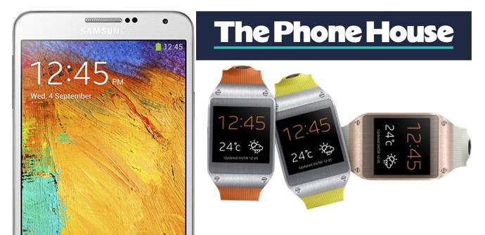 Galaxy Note 3 y Galaxy Gear en The Phone House.