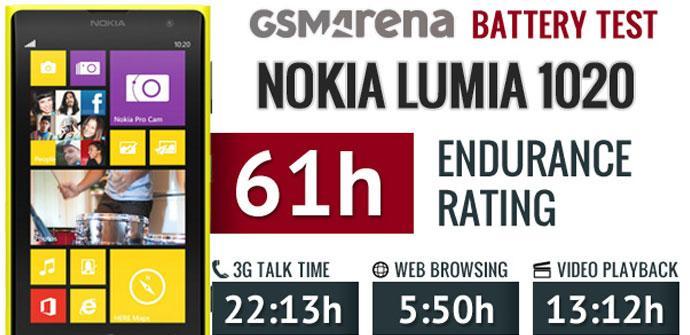 Test de autonomia del Nokia Lumia 1020