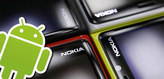 Nokia Lumia con sistema operativo Android