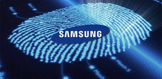 Detector de huellas en Samsung Galaxy