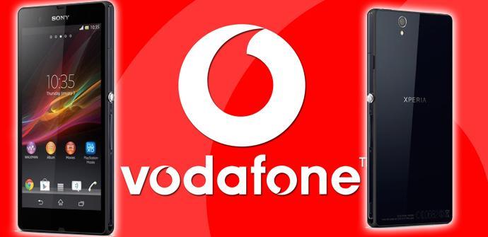 Sony Xperia Z1 con Vodafone.
