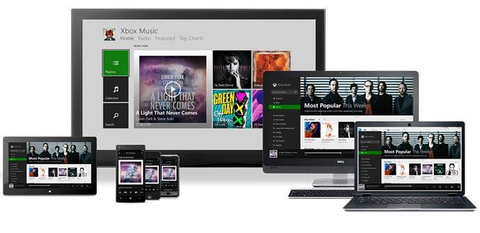 Xbox Music para iOS y Andriod.