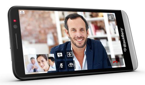 BlackBerry Z30 vista apaisada