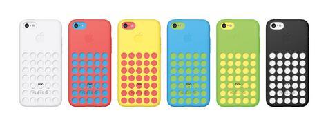 iPhone 5C con funda oficial