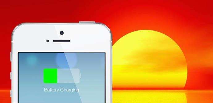 Apple iphone carga solar