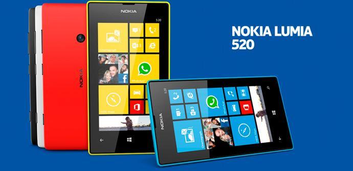 Nokia Lumia 520, el más vendido con WIndows.