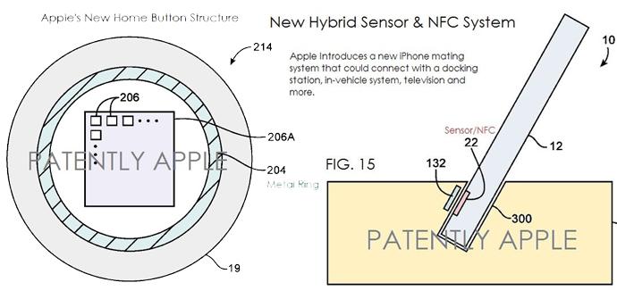 patentes apple iphone 5s
