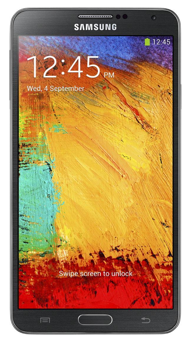 Samsung Galaxy Note 3 vista frontal