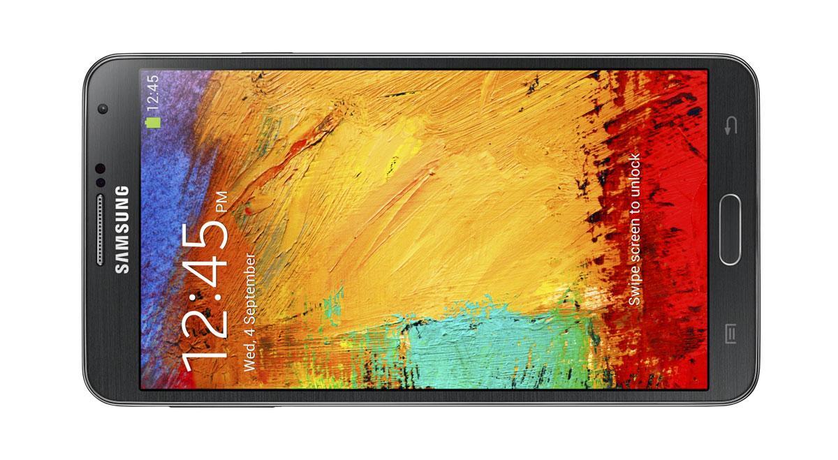 Samsung Galaxy Note 3 vista lateral