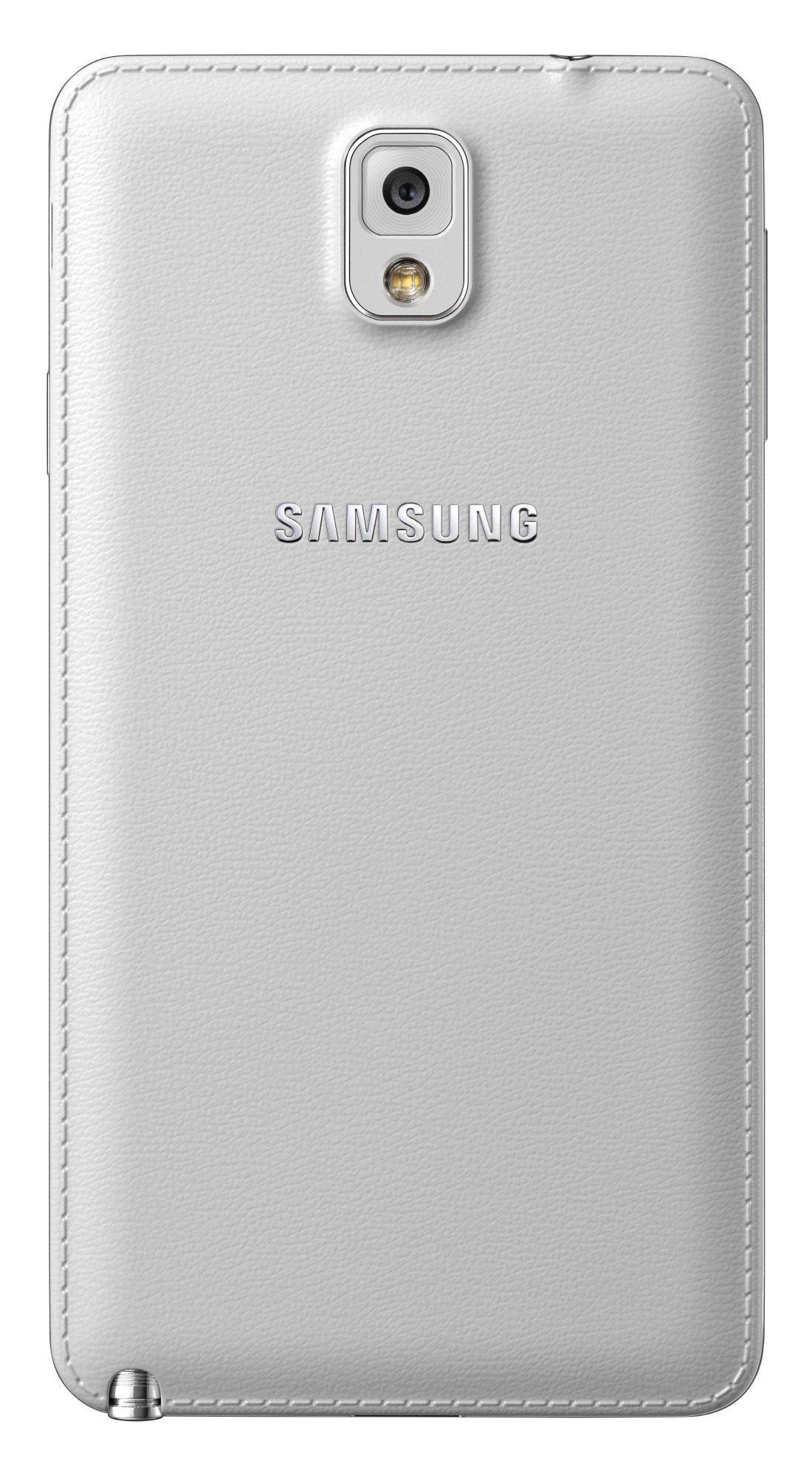 Samsung Galaxy Note 3 vista trasera