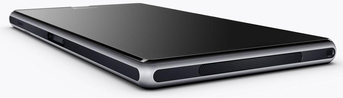 Sony Xperia Z1 vista superior de perfil