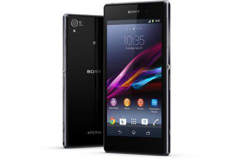 Sony Xperia Z1 vista frotnal y trasera