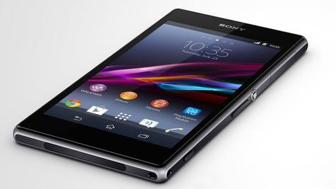 Sony Xperia Z1 vista lateral