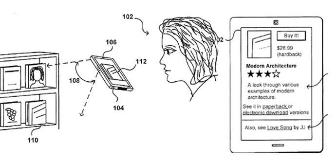 Patente reconocimiento 3D de Amazon.