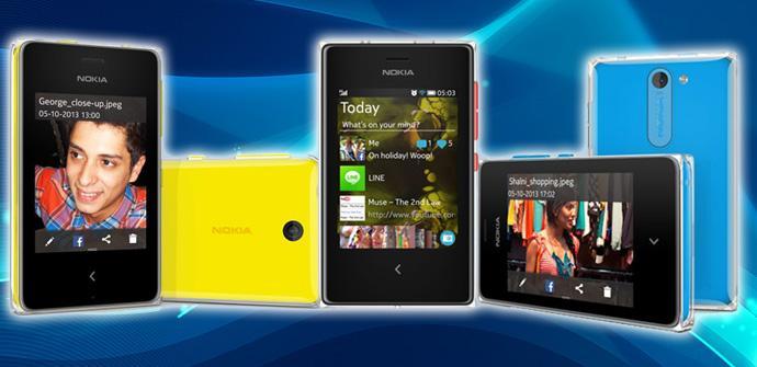 Nuevos Nokia Asha.