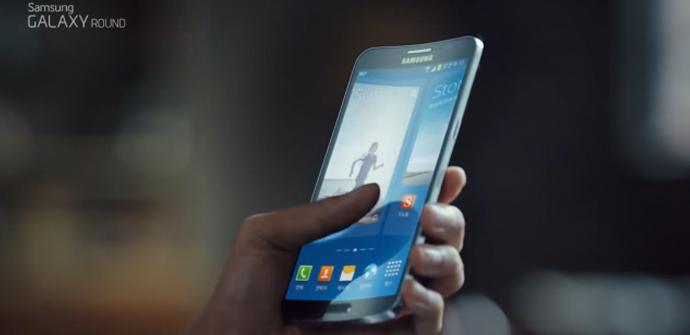 Samsung Galaxy Round, su primer spot de televisión.