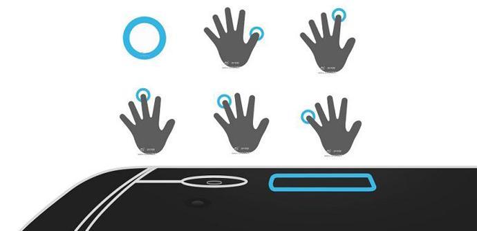El lector de huellas del HTC One Max permitirá lanzar aplicaciones.