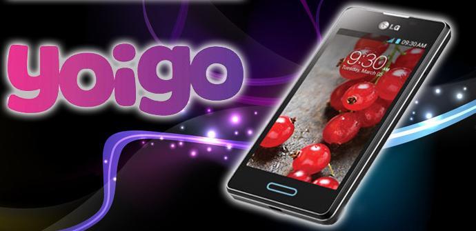 LG Optimus L5 II con Yoigo.
