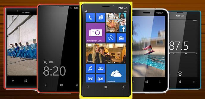 Nokia Lumia varios modelos