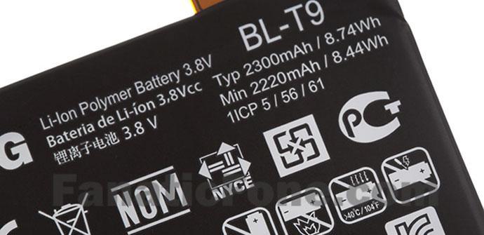 Bateria del Nexus 5
