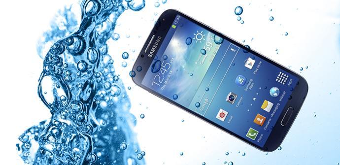 El Samsung Galaxy S5 será resistente al agua.