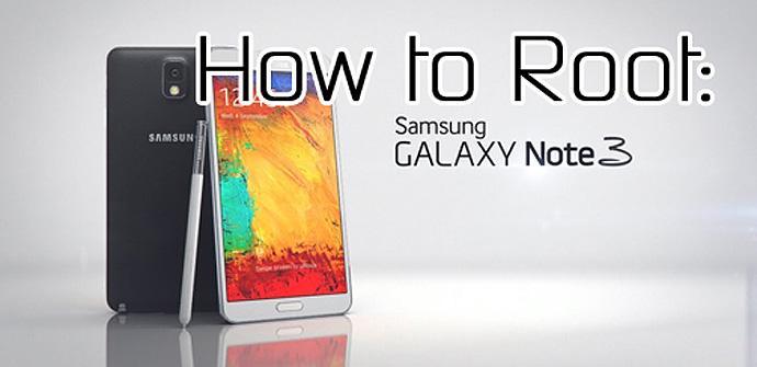 Root en el Samsung Galaxy Note 3