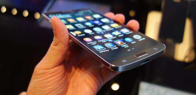 Mejoras técnicas en la pantalla del Galaxy Round
