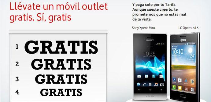 Oferta de Vodafone