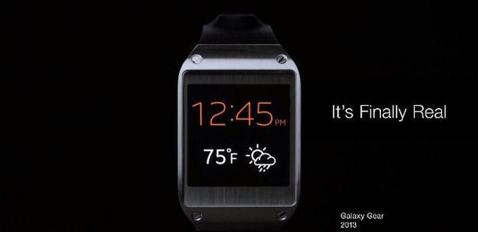 anuncio samsung galaxy gear