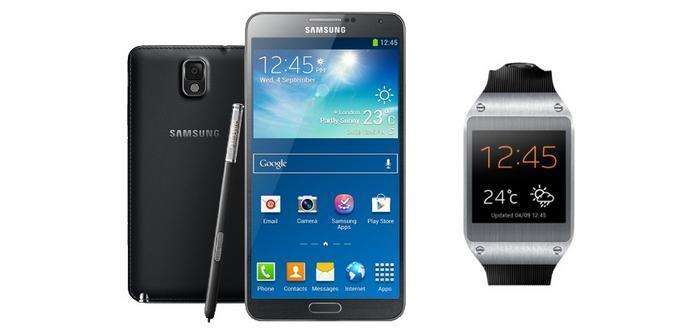 Galaxy Note y Gear