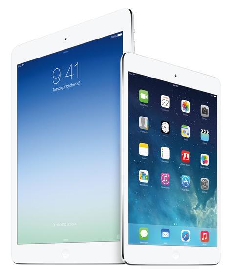 iPad Air vista lateral y trasera