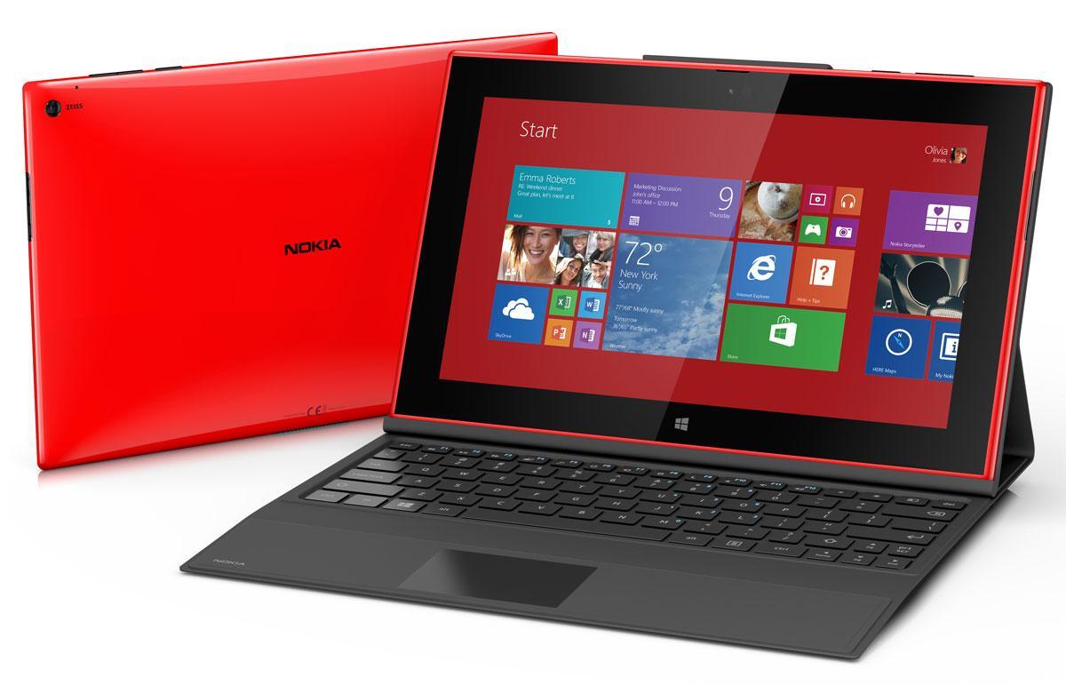 Nokia Lumia 2520 con teclado qwerty