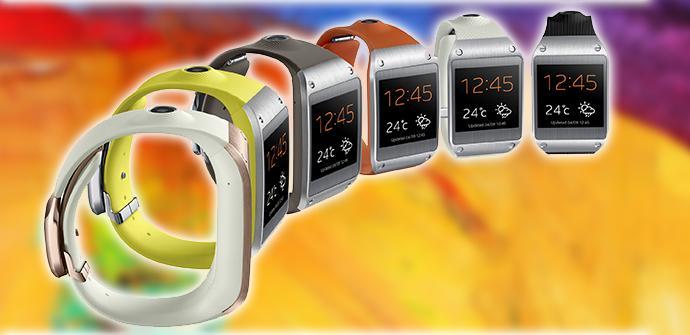 Samsung Galaxy Gear.