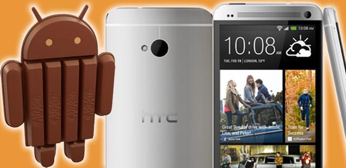 HTC One podría recibir Android KitKat en enero de 2014.