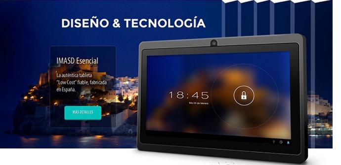 imasD lanzará tablets modulares en 2014.