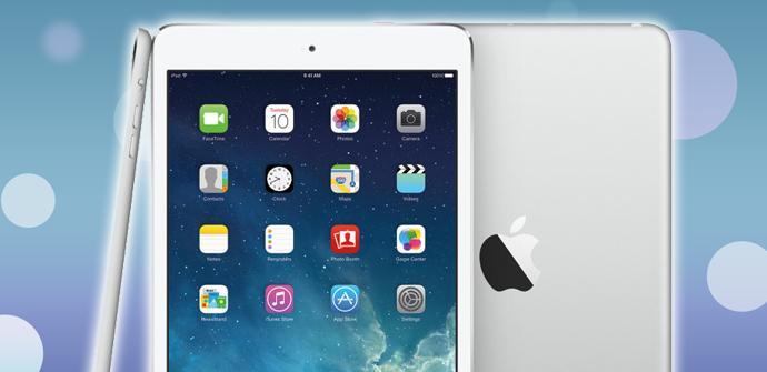 El iPad Mini Retina muestra menos colores que el iPad Air.
