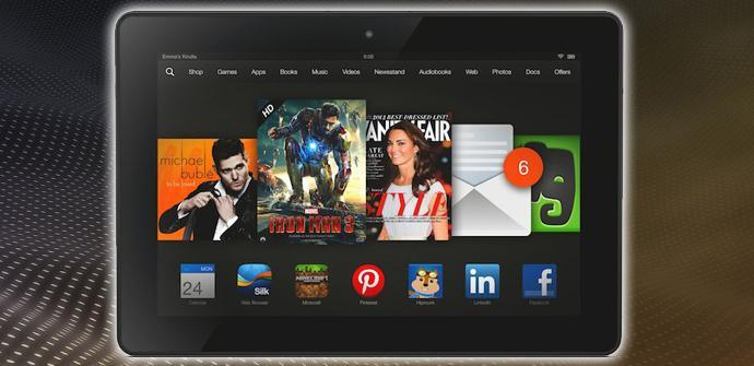 Kindle Fire HDX 8.9.