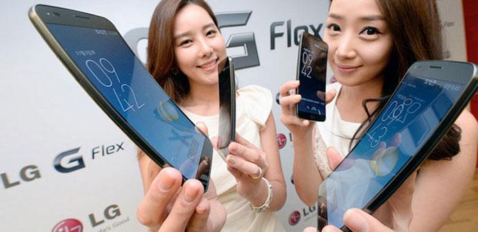 Lanzamiento comercial del LG G Flex