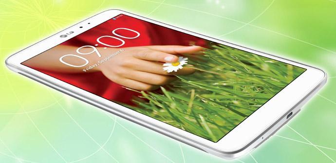 El LG G PAD 8.3 baja de precio.