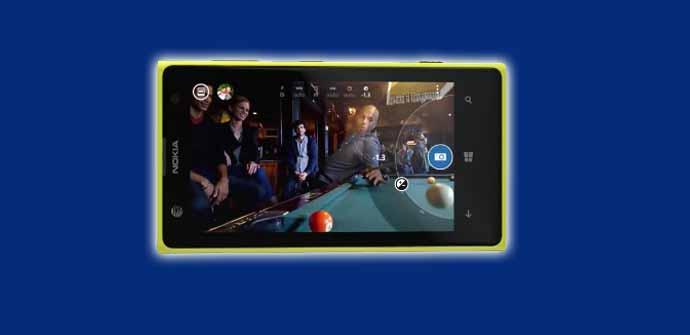 Nokia Lumia 1020 spot.