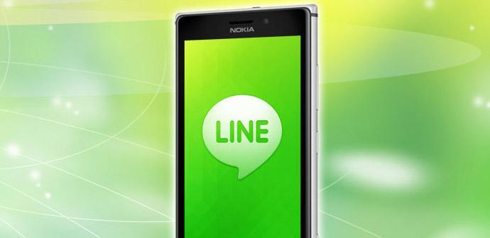 Line llega oficialmente a los Nokia Lumia.