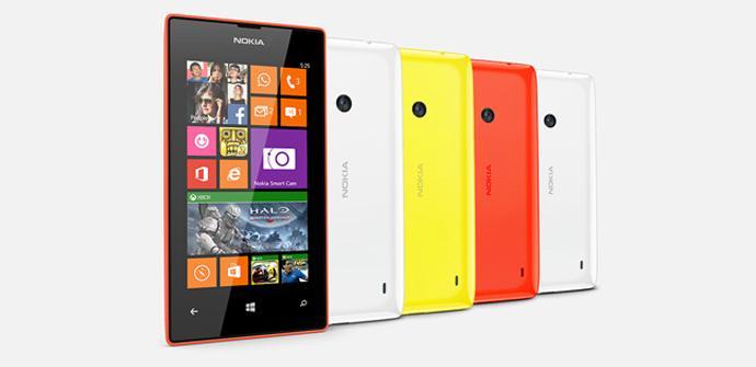 Nokia Lumia 525.